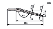 Immagine per la categoria Stili intercambiabili per RA-2200CNC, RA-H5200CNC, RA-6000CNC